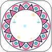 Asorted Mandala Festive Sticker