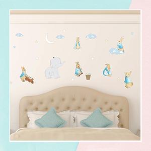 Peter Rabbit Wall Sticker for Kids