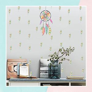 Dream Catcher Mini Wall Art Stickers