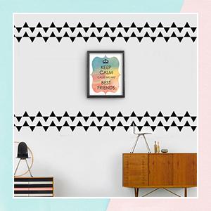 Tale Of A Triangle Mini Wall Art Stickers