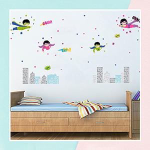 Superkids Wall Sticker for Kids