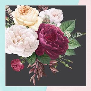 Blossom Peony theme Wallpaper