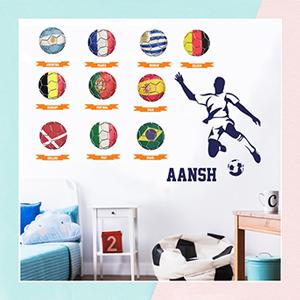Football Wall Sticker for Kids