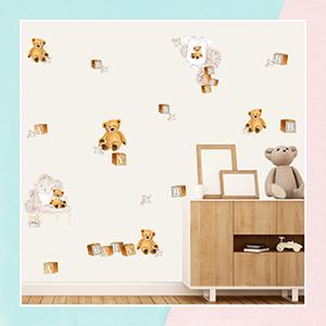 My Teddy Bear Wall Sticker for Kids Room