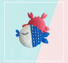 crochet cushion_sea_animals