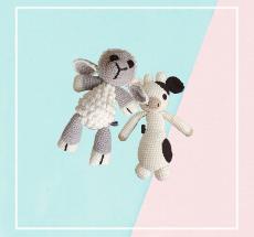 Crochet Soft Toys - Farm Animals