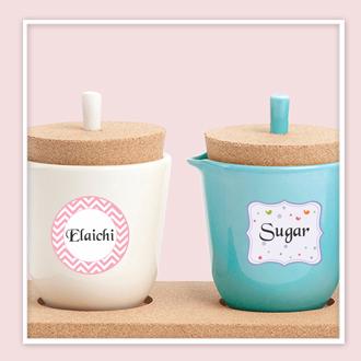 Designer Kitchen Labels