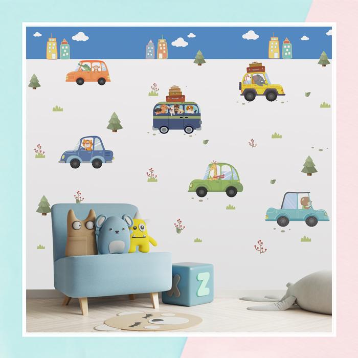 Transport Theme Wallpaper